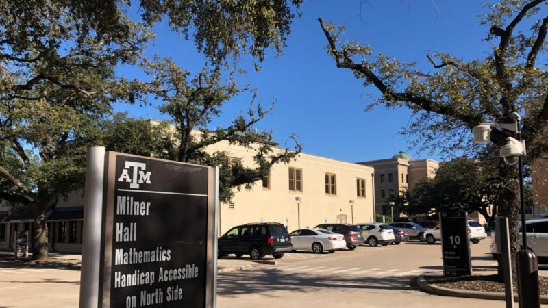 The Texas A&M University Psychology Clinic is located in Milner Hall.