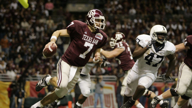 Former Texas A&M quarterback Stephen McGee will serve on the Leading Champions instructor team. tamu