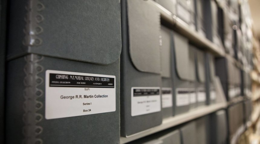 "Martin's 50,000 piece collection is so large that is affectionately called ""The Wall"" by archivists as an homage to the wall that separates Westeros from wildlings and White Walkers."