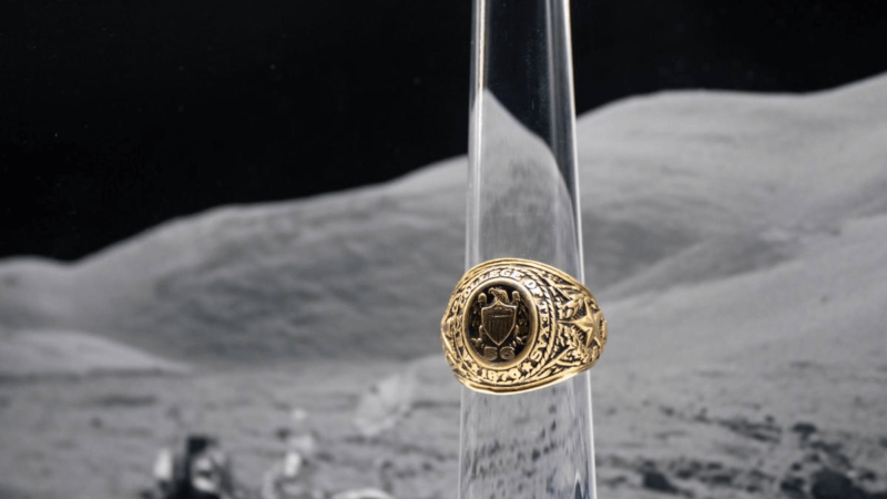 aggie ring in space