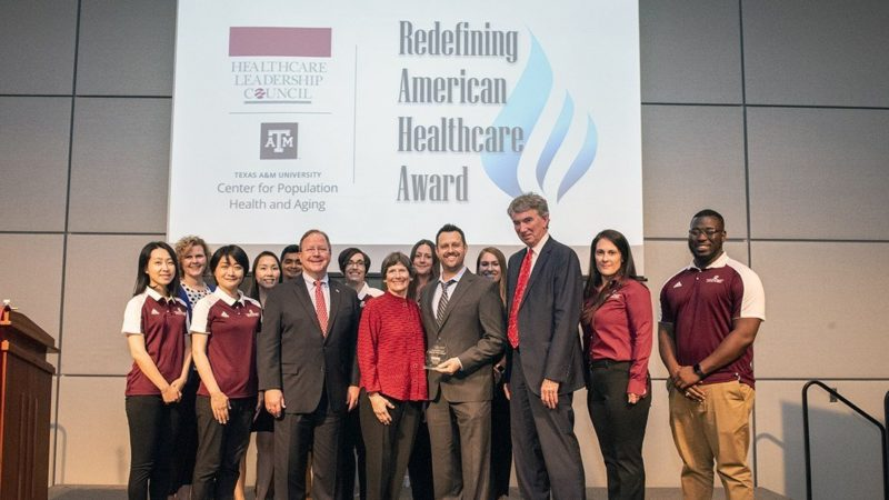 Redefining American Healthcare Award group photo