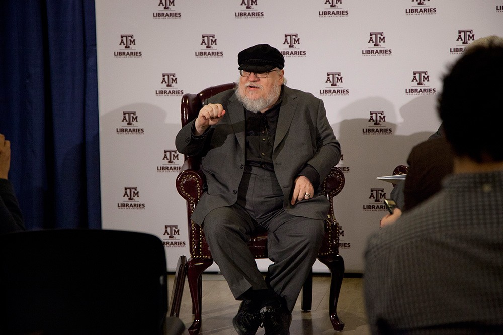 George R.R. Martin at Texas A&M