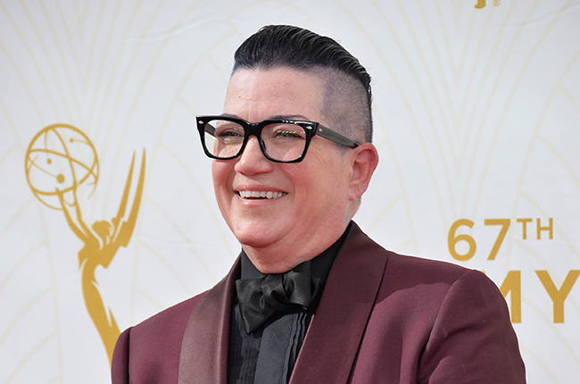 Lea DeLaria at the 67th Primetime Emmy Awards at the Microsoft Theatre LA Live. (Shutterstock)