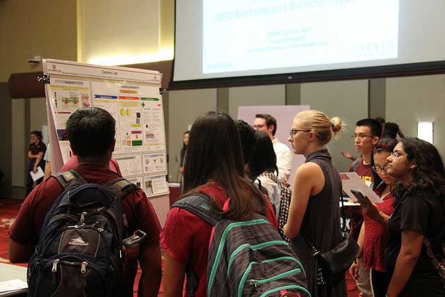 LAUNCH Hosts Undergraduate Research Expo