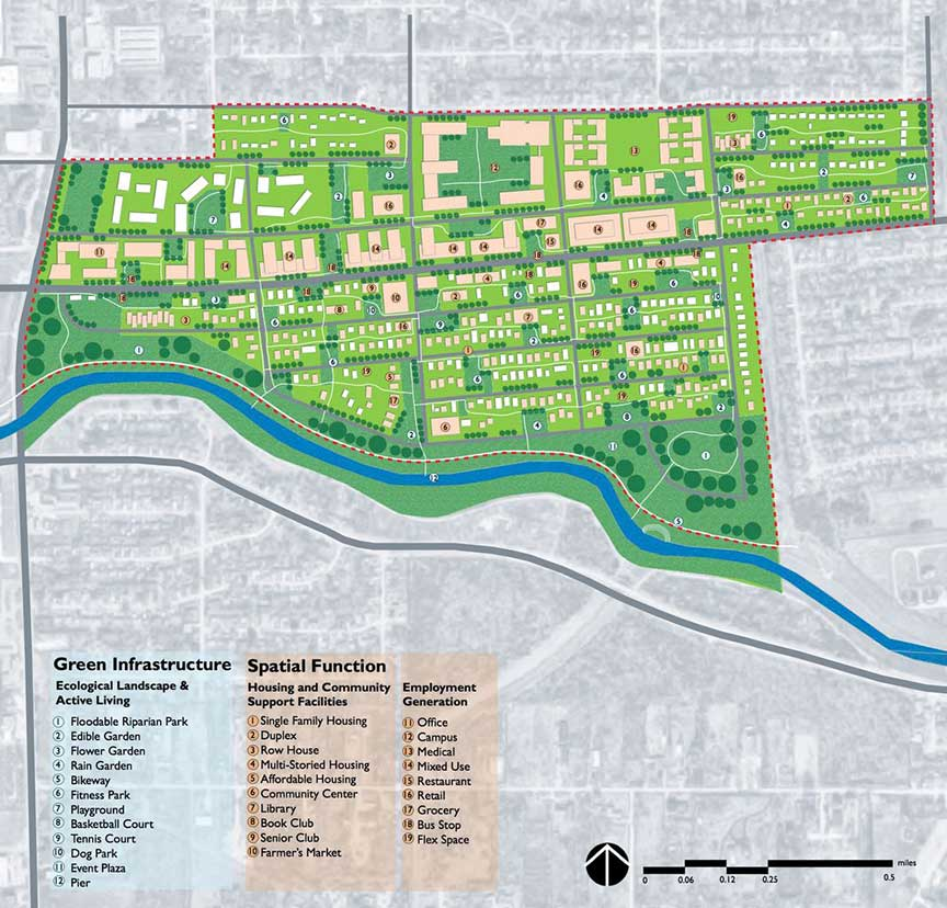 A master plan for a section of Sunnyside.