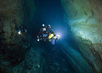Death-Defying Cave Dives Pay Off In Discoveries