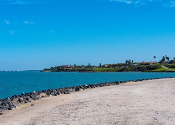 Scenic park with view of Corpus Christi Bay. (Getty Images)