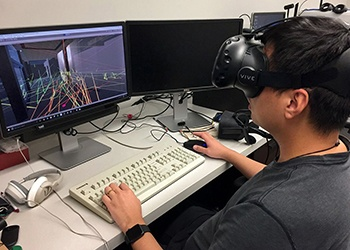 Firefighters To Perform Search And Rescue Missions Using CoSci Prof's VR Tech